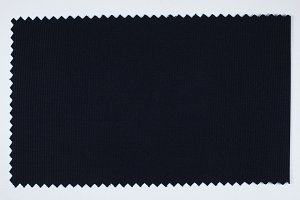 Black fabric sample