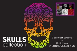 Skulls collection