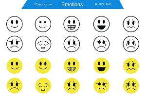 Emotions Icons
