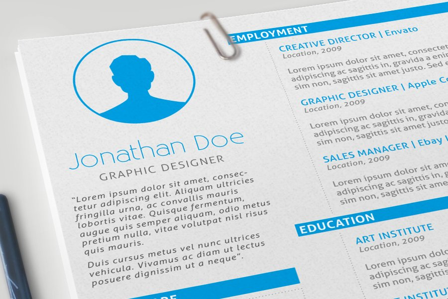 creative cover letters resume cover letter amp portfolio resume templates 21234 | 1
