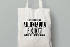 Aucall Font