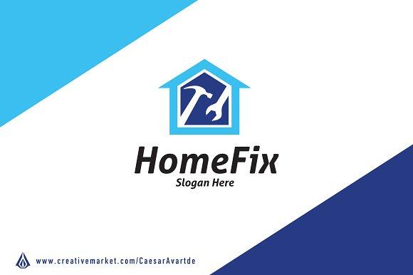 HomeFix Logo Template