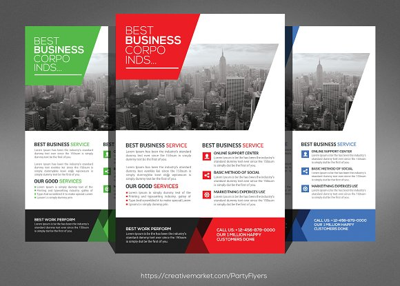Business Flyer Template Flyer Templates Creative Market – Business Flyer Templates