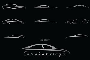 Shapes: LovePowerDesigns - Car Shapes For Logos #2