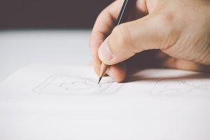 Sketching icons #3