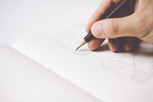 Sketching icons #4