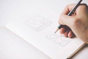 Sketching icons #5