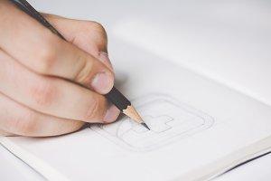 Sketching icons #6
