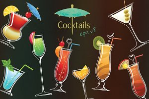 Vector cocktails