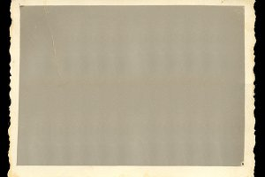 Vintage Blank Photo