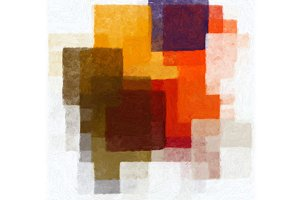 Cubist Pattern Abstract