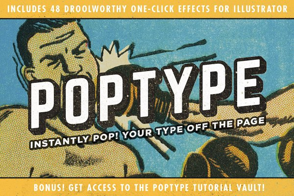 PopType | Graphic Styles and More