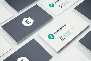 Clean Business Card 05