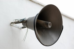 Public Announcement Loudspeaker