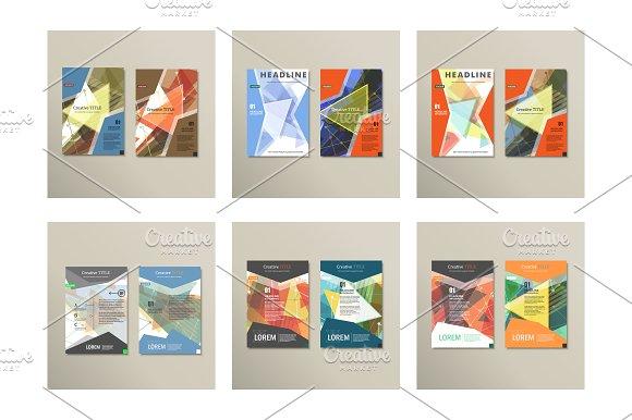 Set template for brochure. Vol.2 - Brochures