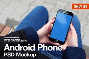 Samsung Galaxy S7 PSD Mockup