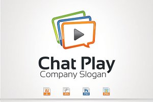 Chat Play Logo