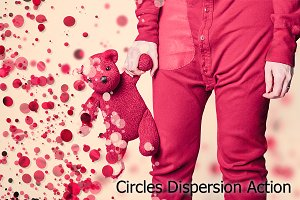 Circles Dispersion Action