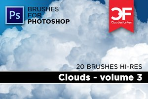 Clouds brushes Volume 3