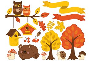 Autumn Forest Set