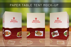 Table Tent Mock-up Template Vol.8