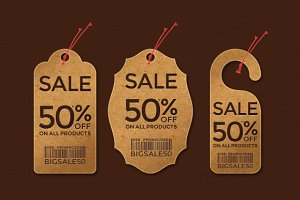 Keypixel Price Tags - Set of 3