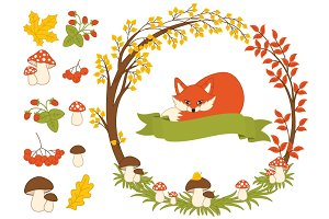 Autumn Woodland Wreath
