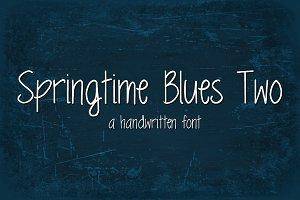 Springtime Blues Two Font
