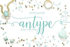 Antype Script And Sans