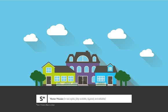 Vector Houses