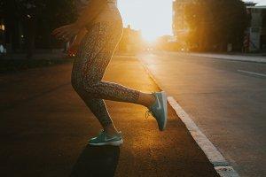 Sunset Running V4