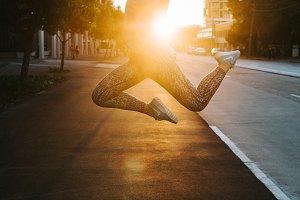 Sunset Running V5
