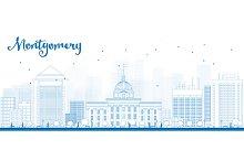 Outline Montgomery Skyline