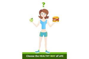 Sport Diet Healthy Way of Life