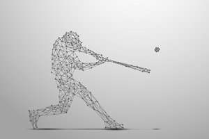 Ballplayer poly gray