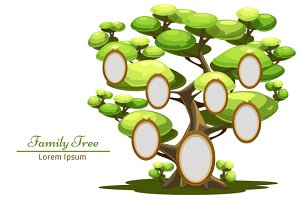 Family Tree with frame