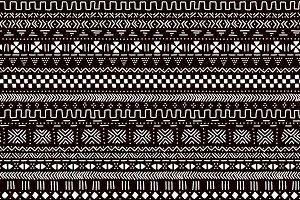 Mudcloth seamless pattern