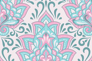 Vector Paisley Set