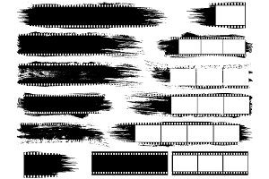 Grunge Inspired Film Strips