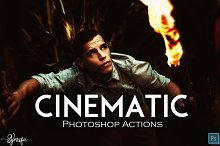 Cinematic FX Photoshop Actions Ver.1