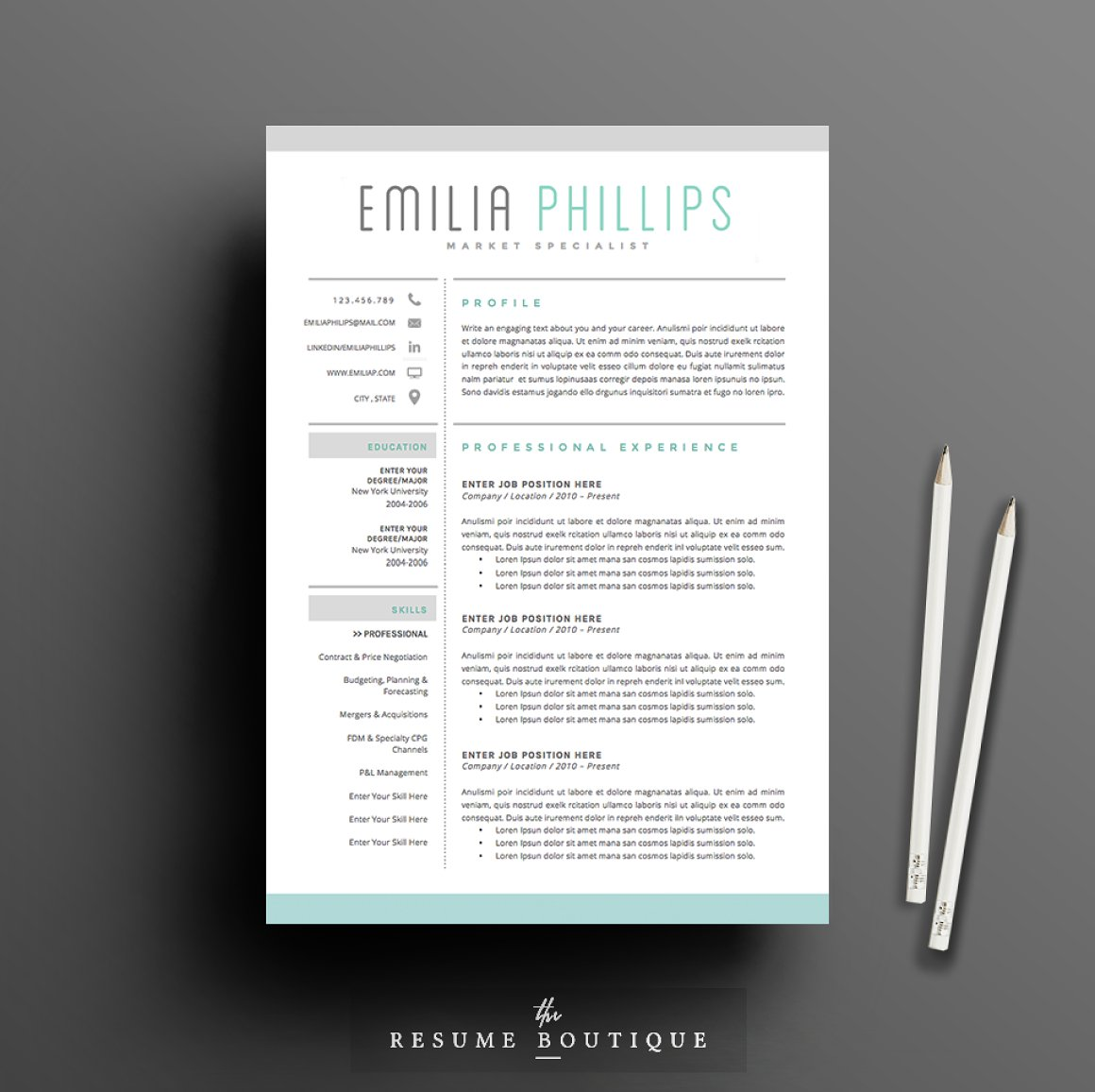 50 Creative Resume Templates You Won't Believe are Microsoft