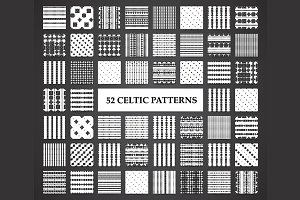 52 celtic seamless patterns