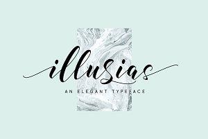 illusias elegant font
