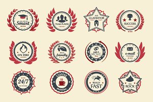 Achievement Badges. Part 1