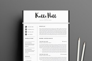 the resume boutique creative market