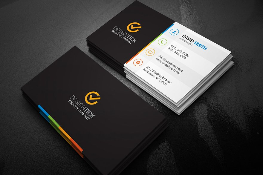 Simple Business Card Template - Business Card Templates | Creative ...