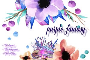 Purple fantasy ...