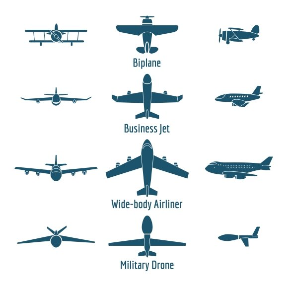 how to make different types of airplanes