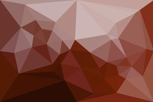 Abstract low poly red background