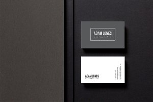 Minimal businesscard | photographer